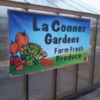 La Conner Gardens logo