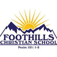 Foothills Christian School logo