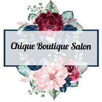 Chique Boutique Salon logo