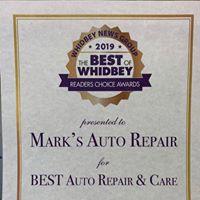 Mark's Auto Repair logo