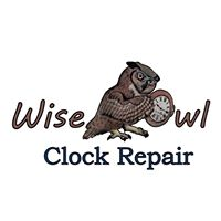 Wise Owl Clock Repair logo