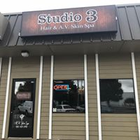Studio 3 Hair & Spa logo