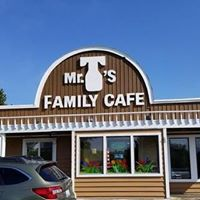 Mr T's Family Cafe logo