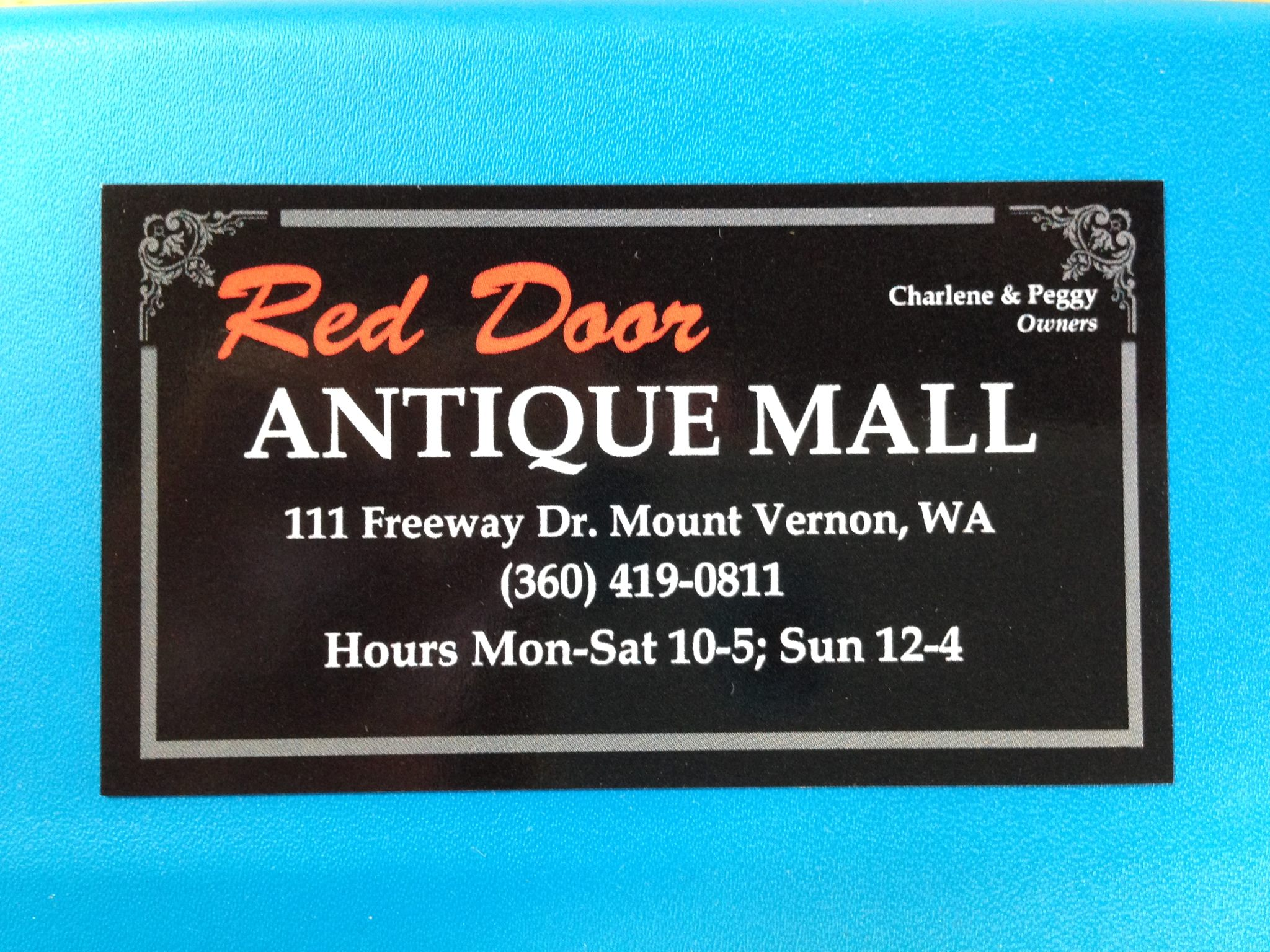 Red Door Antique Mall The logo