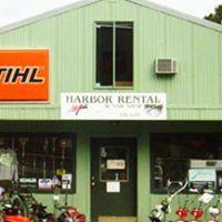 Harbor Rental & Saw Shop logo