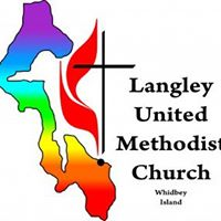 Langley United Methodist Church logo