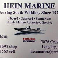 Hein Marine  logo