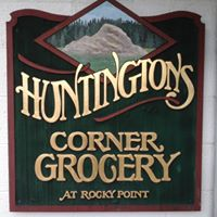 Huntington's Corner Grocery logo