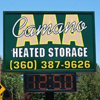 AAA Camano Heated Storage logo