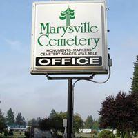 Marysville Cemetery logo