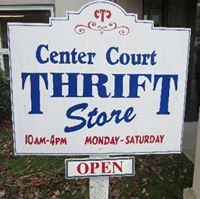 Center Court Thrift Store logo
