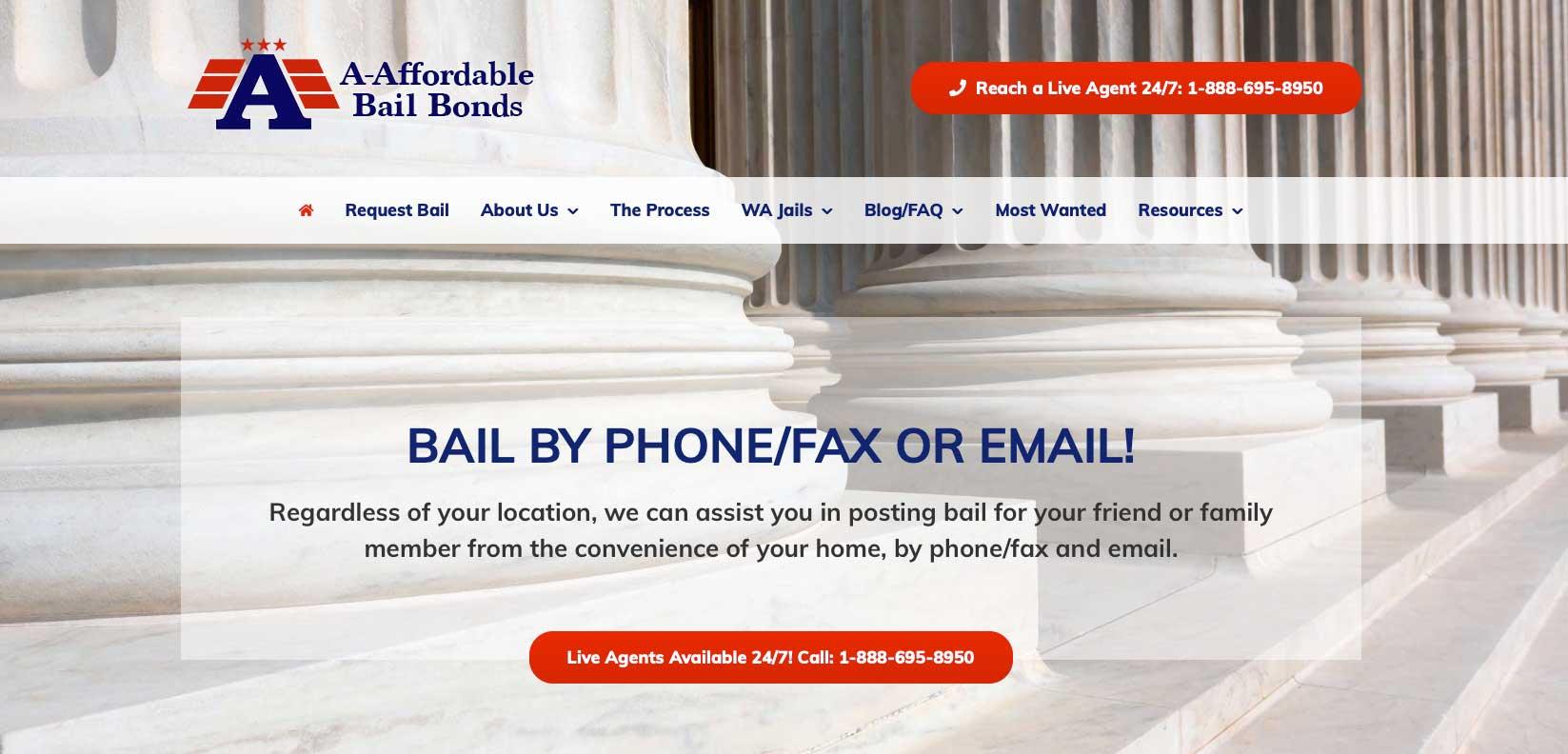 A-Affordable Bail Bonds logo