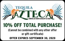 Tequila Azteca Mexican Restaurant logo