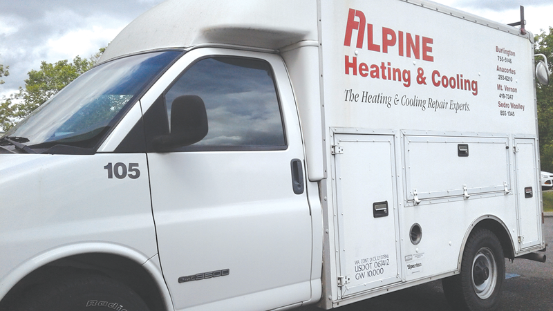 Alpine Heating & Cooling logo