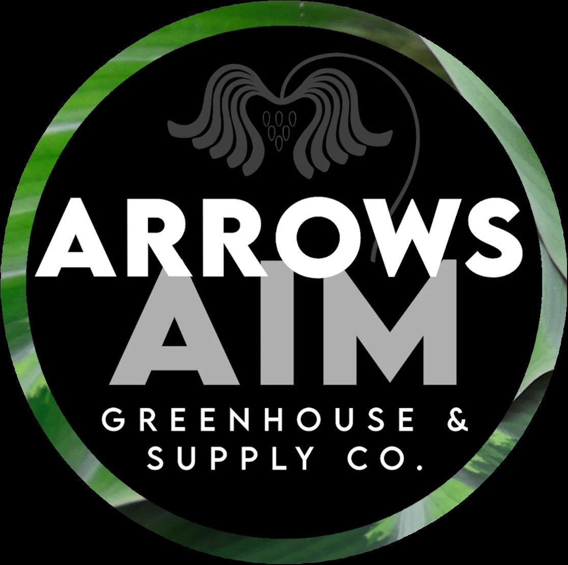 Arrows Aim Greenhouse & Supply Co. logo
