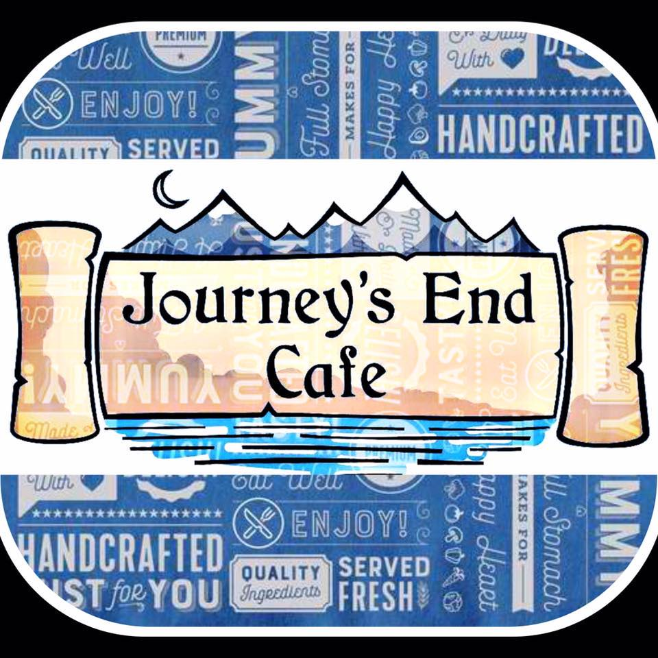 Journey's End Cafe logo