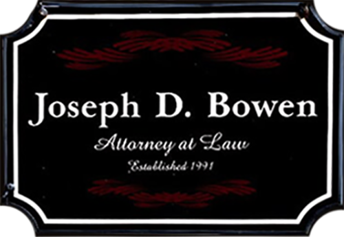 Bowen Joseph D Attorney At Law PS logo