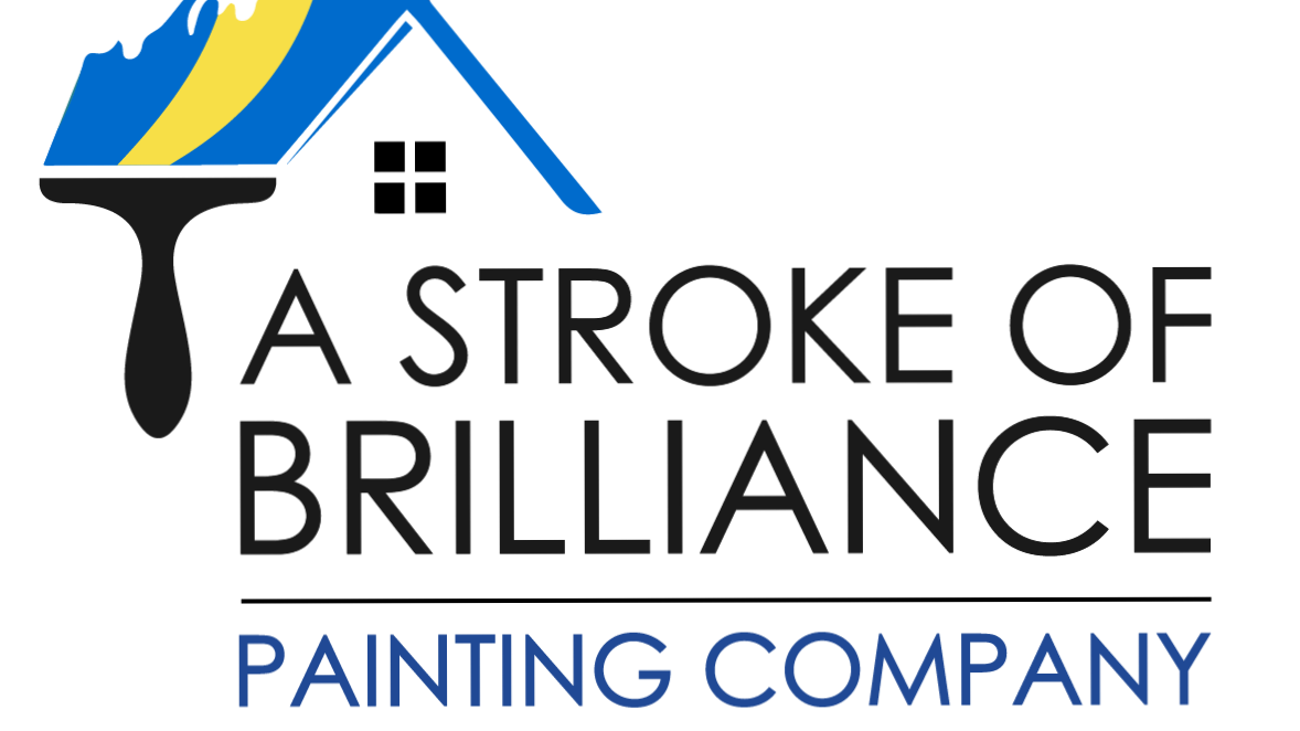 A Stroke of Brilliance Painting Co logo