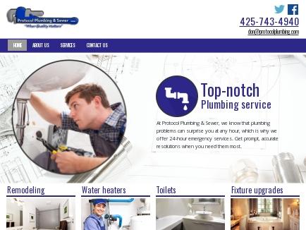 Protocol Plumbing & Sewer logo