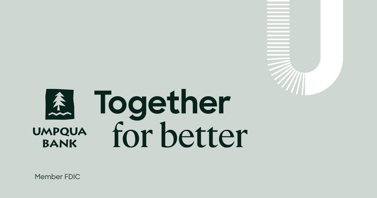 Umpqua Bank: Bob Hoerner logo