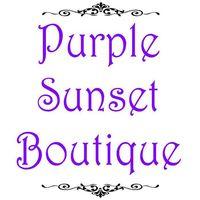 Purple Sunset Boutique logo