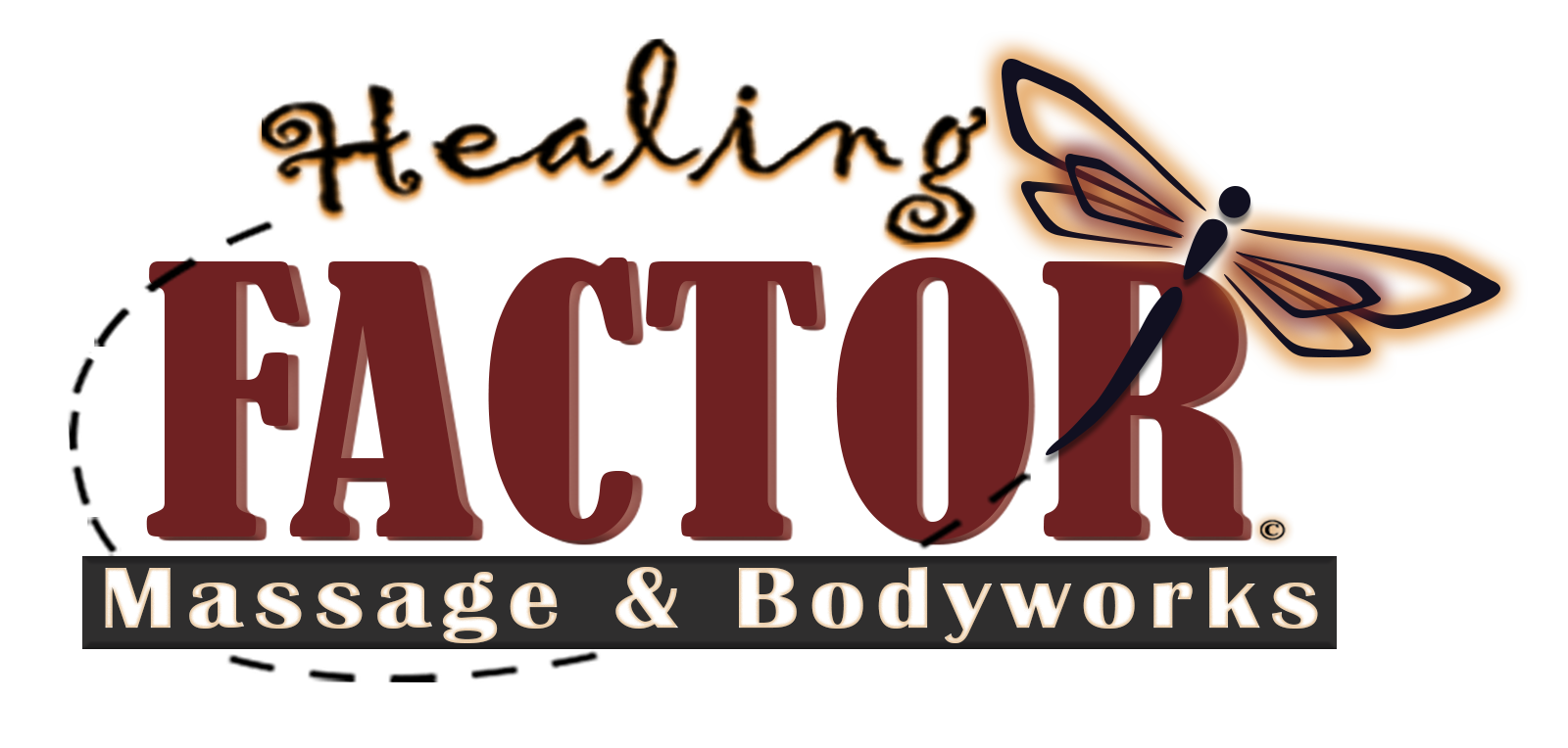 Healing Factor Massage & Body Works logo