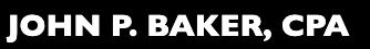 Baker John P CPA logo