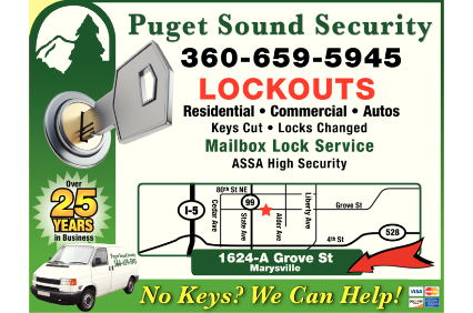 Puget Sound Security logo