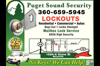 Puget Sound Security logo