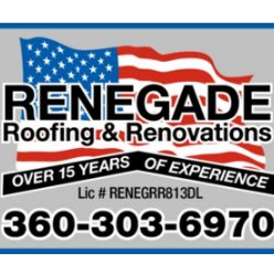 Renegade Roofing & Renovations logo