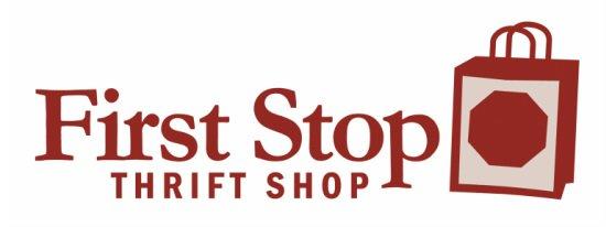 First Stop Thrift Shop logo