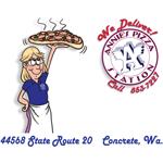 Annie's Pizza Station logo