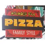 Kung Fu Pizza logo