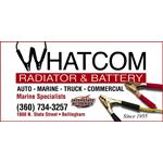 Whatcom Radiator & Battery logo