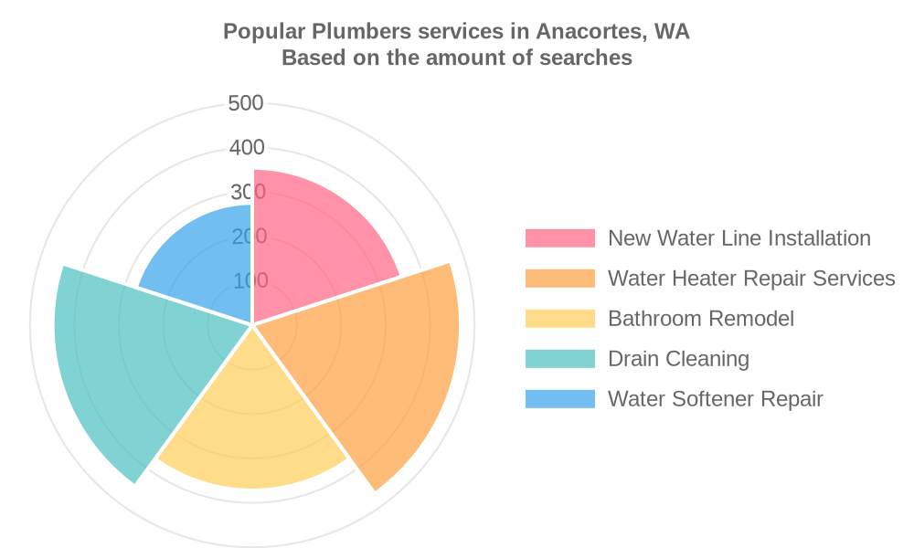 Popular services provided by plumbers in Anacortes, WA