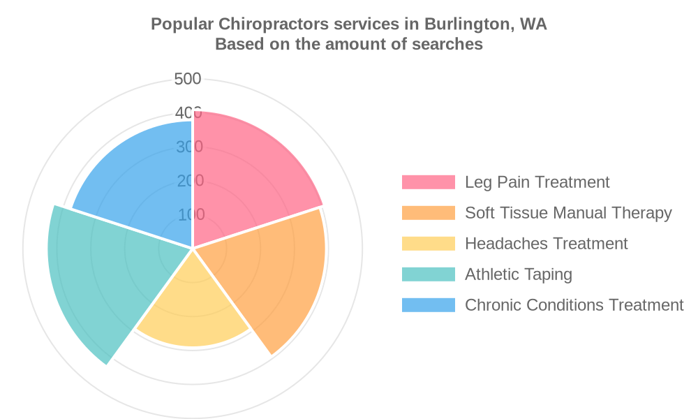 Popular services provided by chiropractors in Burlington, WA