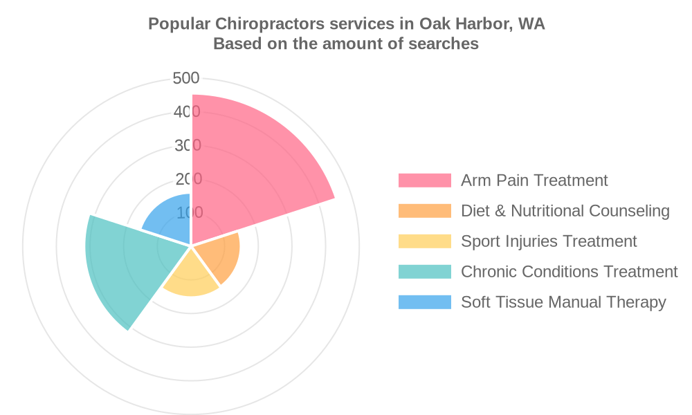 Popular services provided by chiropractors in Oak Harbor, WA