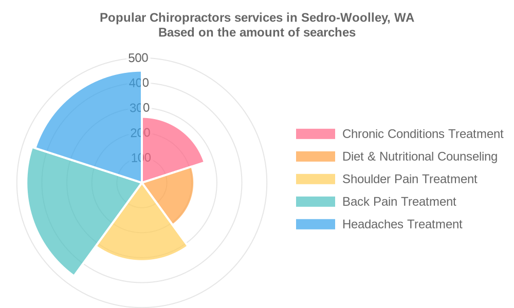 Popular services provided by chiropractors in Sedro-Woolley, WA