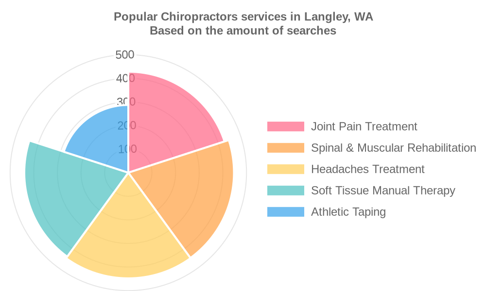 Popular services provided by chiropractors in Langley, WA