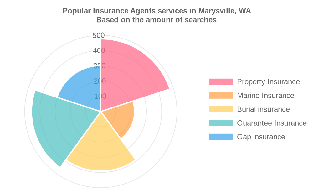 Popular services provided by insurance agents in Marysville, WA