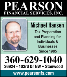 Print Ad of Pearson Financial Services Inc