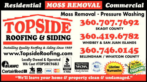 Topside Roofing Amp Siding Bellingham Wa Skagit Directory