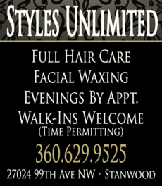 Yellow Pages Ad of Styles Unlimited