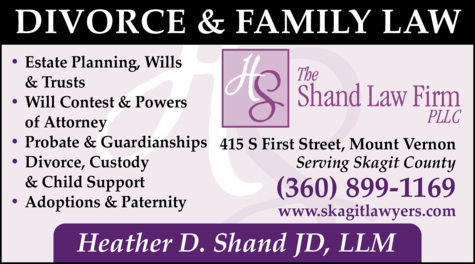 Print Ad of Shand Law Firm Pllc