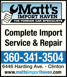 Yellow Pages Ad of Matt's Import Haven
