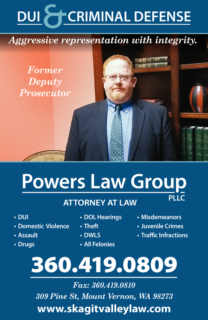 Yellow Pages Ad of Powers Law Group Pllc
