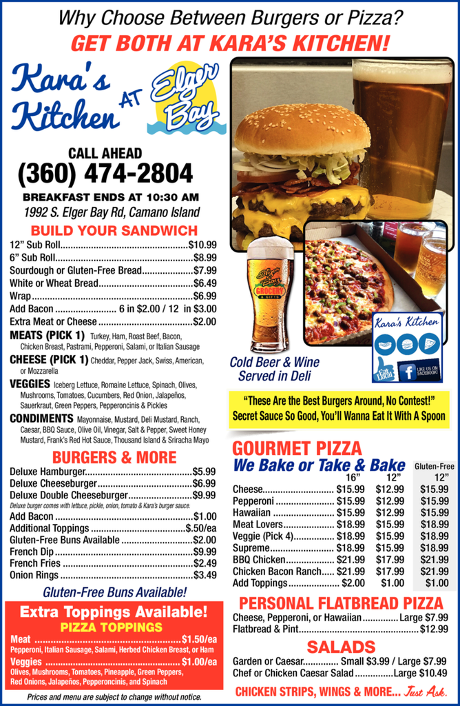 Print Ad of Journey's End Cafe