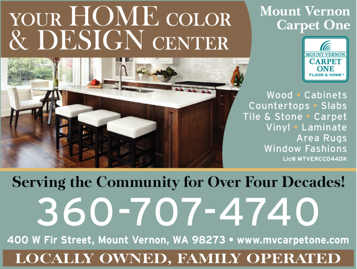 Print Ad of Mount Vernon Carpet One Floor & Home