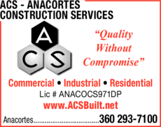 Print Ad of Acs - Anacortes Construction Services