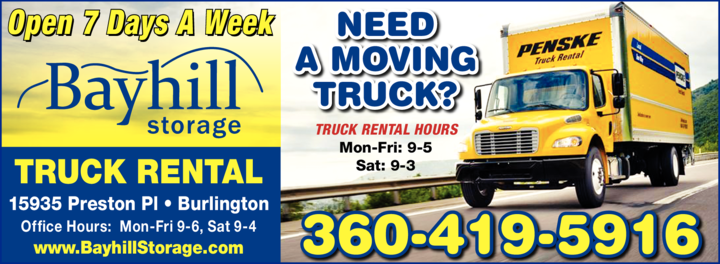 Print Ad of Penske Truck Rental - Authorized Agent